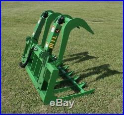 2019 MTL Attachments 60 Root Grapple Bucket fits John Deere Tractor Loader