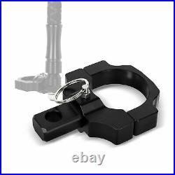 2X UTV ATV Mount Brackets For LED Whip Light Bar Fit 1.75 to 2 Rollbar Cage