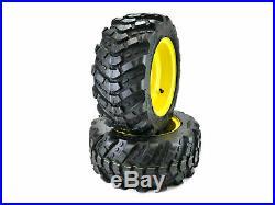 (2) 18x8.50-10 Aggressive Front Wheel Assemblies fits John Deere 1025 LVA20123