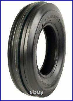 2 Firestone 6.00-14 3-Rib Front Tractor Tires & Tubes fits Yanmar YM220 YM226