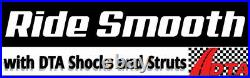 2 Front Coil-Over Struts Shocks Springs Fit John Deere HPX Gator XUV620i XUV850D