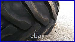 2 NEW 21L-24 Backhoe Tires R4 21LX24 21X24 -21-24-fits Case, John Deere, etc