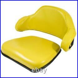 2 Pc. Yellow Seat Cushion Set Fits John Deere 1020 1520 1530 2020 & Later Models