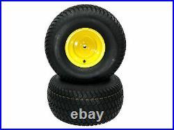 (2) Rear Wheel Assemblies 20x10.00-8 fits John Deere Replaces GY20637 GX10364