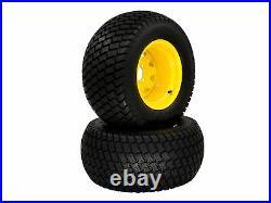 (2) Turf Wheel/Tire Assemblies 24x12.00-12 fits John Deere ZTrak Pro TCA17309