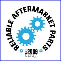 (2) fits John Deere Mower AM115510 Pneumatic Tire Front Caster Wheel 9x3.50-4
