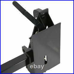 3500 lbs Quick Tach Conversion Adapter Latch Fit Global John Deere To Skid Steer