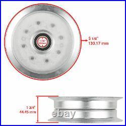 48 Deck Spindle Blade Belt Kit fits John Deere GY20996 L120 L130 2002 2003 2004