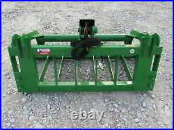48 Root Rake Grapple Attachment Fits John Deere Compact Tractor Loader