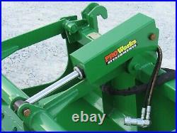 48 Solid Bottom Bucket Grapple Attachment Fits John Deere Tractor Loader