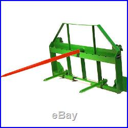 49 Hay Spear Attachment fits John Deere 200,300,400,500 Loaders