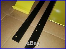 54 Snow Plow Blade Extensions & 1/4 Thick Wear Bar To 72 Wide Fits John Deere