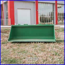 60-in Bucket Attachment 3/16-in Thick Fits John Deere Hook And Pin Tractors For