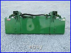 72 Compact Tractor Solid Bottom Bucket Grapple Fits John Deere Tractor Loader