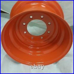 8.25x16.5 ROAD CREW Wheel/Rim fits BOBCAT 10-16.5 RIMS 10x16.5 ORANGE COLOR