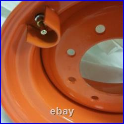 9.75x16.5 ROAD CREW Wheel/Rim fits BOBCAT 12-16.5 RIMS 12x16.5 ORANGE COLOR