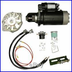 Alternator & Starter Conversion Kit 24V to 12V fits John Deere 4020 3010 4010 30