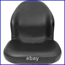 Black Seat Fits John Deere Skid Steer 240 250 260 280 313 315 317 320 325 328 33
