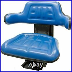 Blue Trac Seats Brand Tractor Suspension Seat Fits Ford / New Holland 5100