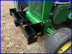 Custom Weight Bracket with 2 Receiver fits John Deere 110-140, 200-216, 300-332