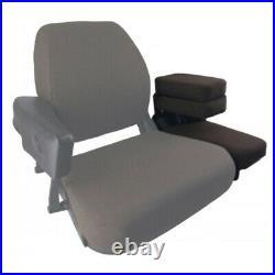Dark Brown Instructional Seat Fits John Deere 3055, 3140, 3150, 3155, 3255, 4030