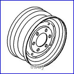 FW45166 Tractor Front Rim 4.5 x 16 6 Lug Universal Rim Fits Several Models
