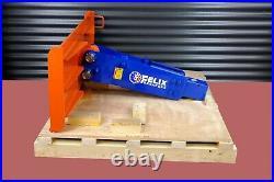 Felix Hydraulic Hammer Breaker fit to 2000 to 7000 lbs Skid Steer Mini Excavator