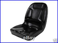 High Back Black Seat Fits 650,750,850,950, & 1050 John Deere Compact Tractor #dm