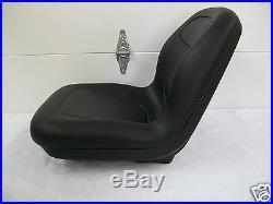 High Back Black Seat Fits 650,750,850,950, & 1050 John Deere Compact Tractor #el
