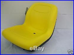 High Back Yellow Seat Fits 650,750,850,950, & 1050 John Deere Compact Tractor #ek