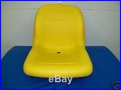 High Back Yellow Seat Fits Jd John Deere 2210 Compact Tractors Lva12751 #mq