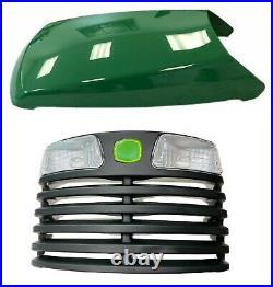 Hood & Front Grille AM132530 AM131661 Fits John Deere LT133 LT155 LT166