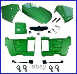 Hood/Fuel Door Kit/PanelsLH&RH/Catch/Cowl & Cover fits John Deere 4210 4310 4410