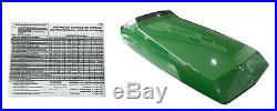Hood/Panel/Sticker/Screen AM128986 AM128983 AM128982 Fits John Deere 425 LOW SN