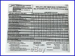 Hood/Panel/Sticker/Screen AM128986 AM128983 AM128982 Fits John Deere 455 LOW SN