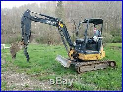 Hydraulic thumb Attachment kit fits John Deere 35D 35G & Hitachi ZX35 AR400