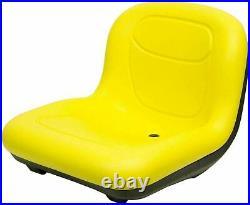 John Deere 15.50 High Back Seat Fits GT225 GT235 GT245 GT255 GT325 OEM#AM131157