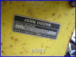 John Deere Model 47 2-stage Snowblower To Fit 420 430 (early Heavy Duty Style)