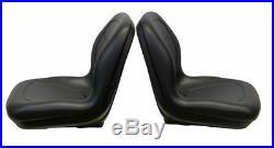 John Deere Pair(2) Black Seats fit Gator 4X2HPX 4X4HPX and 4X4Trail HPX Series