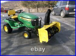 John Deere sku23045 44 snow blower fits X Series