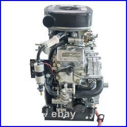 Kawasaki Engine 26hp Shaft Water Cooled, Fits John Deere 445 FD791D-JD445I-R1