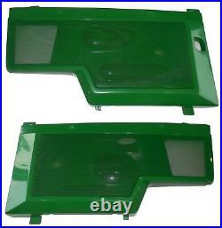 LH/RH Side Panel/Screen/Sticker/Clip AM128982 AM128983Fits John Deere 455 LOW SN