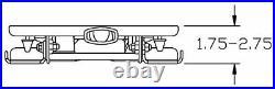 Low ProfIle Lawnmower Suspension fits Exmark Kubota John Deere Toro Gravely etc
