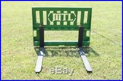 MTL Attachments 42 Pallet Forks 3500 lb fits John Deere Tractor Loader