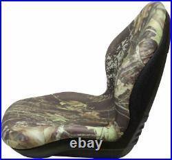 Milsco XB200 Mossy Oak Break-Up Camo Seat Fits John Deere, Case, Toro, etc