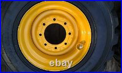NEW 16.5X9.75X8 Wheel/Rim for New Holland, John Deere fits 12-16.5 tire