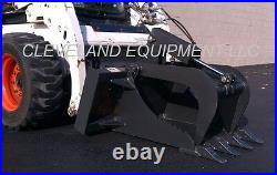 NEW HD STUMP GRAPPLE BUCKET ATTACHMENT for / fits Bobcat Skid Steer Track Loader