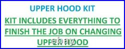 New Kumar Bros USA Upper Hood KIT Fits John Deere LX176