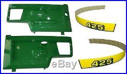 New LH & RH Side Panels KIT AM128982 AM128983 Fits John Deere 425 UP S/N