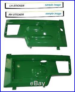 New LH & RH Side Panels KIT AM128982 AM128983 Fits John Deere 445 UP S/N